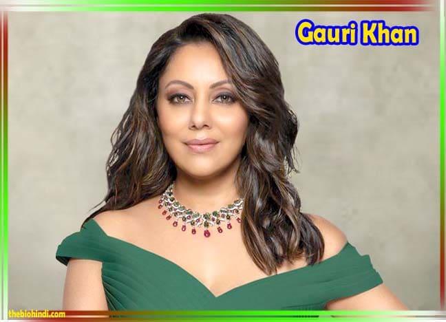 Gauri Khan Biography In Hindi