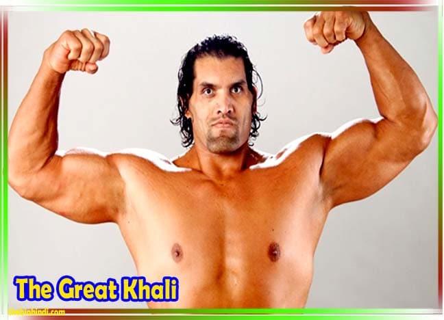 The Great Khali Biography in Hindi