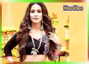 हिना खान का फोटो